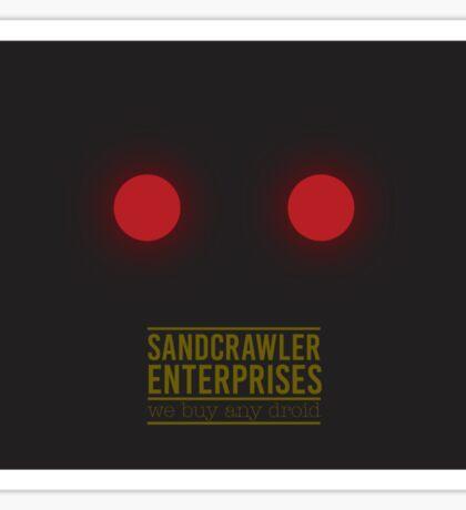 Sandcrawler Enterprises - Jawa - Star Wars Sticker