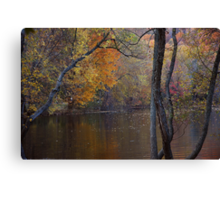 The Gloaming in Wyckoff Canvas Print