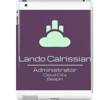 Lando Calrissian - Star Wars iPad Case/Skin