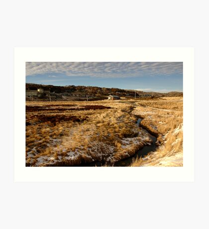 Perisher Village Art Print