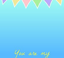 You are my sunshine bunting by ohsnap