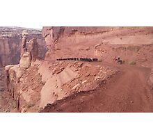 Canyon Trail Photographic Print