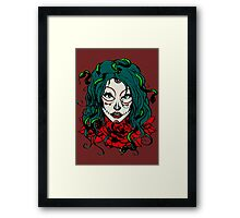 Living Dead Girl - Medusa Framed Print