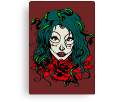 Living Dead Girl - Medusa Canvas Print