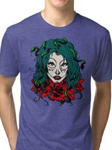 Living Dead Girl - Medusa Tri-blend T-Shirt