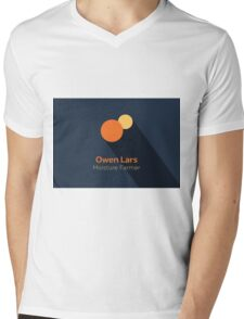 Owen Lars - Star Wars Mens V-Neck T-Shirt