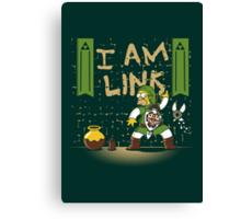 I am Link! Canvas Print