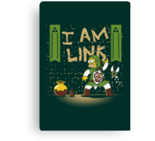 I am Link! Canvas Print