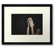 """A dream is just a nightmare with lipstick.""   ― Toni Morrison Framed Print"