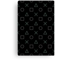 Game Buttons Canvas Print