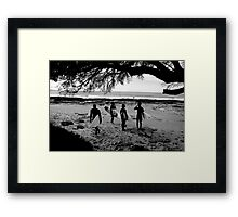 where to now? Framed Print