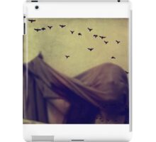 Last night I was flying on the wall and lost direction. iPad Case/Skin