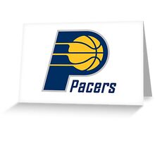 pacers Greeting Card