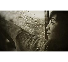 Calling all the raindrops Photographic Print