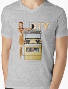 DIY. Mens V-Neck T-Shirt