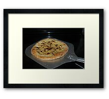 Cheese Pizza Framed Print
