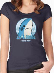 2015 MVP: Left Shark Women's Fitted Scoop T-Shirt