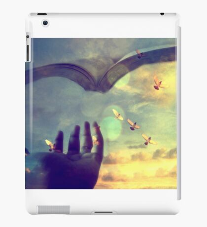 Flying book iPad Case/Skin