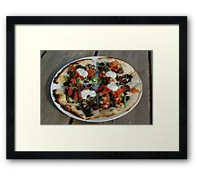 Mexican Pizza Framed Print