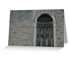 Venice Door Greeting Card