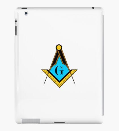 freemason symbol iPad Case/Skin