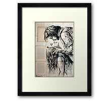 The fury of love Framed Print