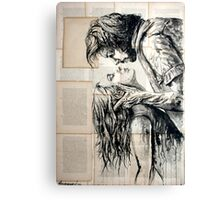 The fury of love Canvas Print