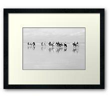 Saltburn Ride Framed Print