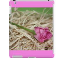 Pink Wedding Rose iPad Case/Skin