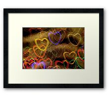 Getting To The Heart Of Matter Framed Print