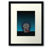 Nigel The Hedgehog Framed Print
