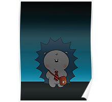 Nigel The Hedgehog Poster
