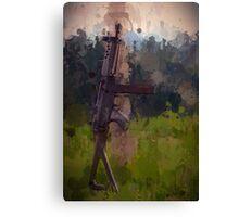 Sig Sauer Rifle Drip Canvas Print