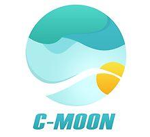 C-Moon - Minimal JJBA Inspired Logo by jacklemon