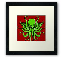 Mad God Cthulhu Framed Print