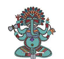 Lord Ganesha by Richard Laschon