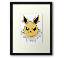 Wild Jolteon Pokemon Framed Print