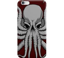 Grey Chtulhu iPhone Case/Skin
