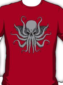 Grey Chtulhu T-Shirt