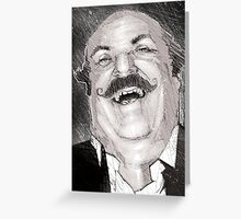 Mr. Cohen Greeting Card