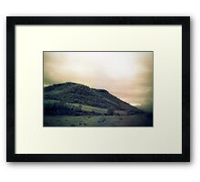 muted landscape #2 Framed Print