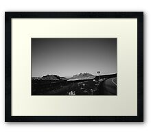 Black Dragon Canyon Framed Print