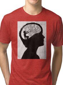 musarañas (black and white) Tri-blend T-Shirt