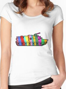The tank... Women's Fitted Scoop T-Shirt