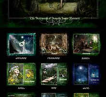 Celtic Dreams 2009 Calendar preview by Angie Latham