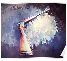 Over Under 12 Gauge Drip Poster
