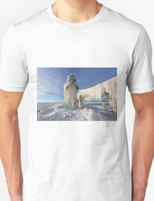 St. Joseph Lighthouse in Winter T-Shirt