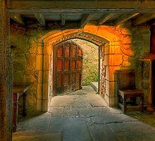 Large door 2 - Montsalvat by Hans Kawitzki