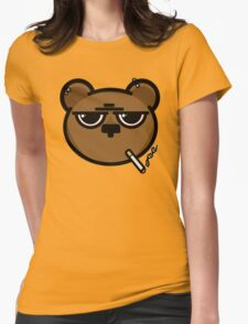 Stress Bear... Womens Fitted T-Shirt