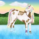Splash The Horse by Palomino1234
